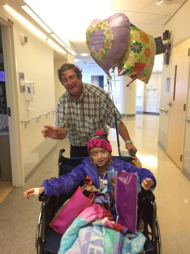 Katya out of Hospital