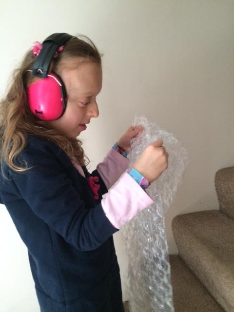 Katya bubble wrap